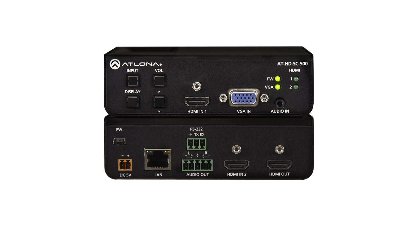 Atlona AT-HD-SC-500 - Switcher, Scaler, VGA X HDMI