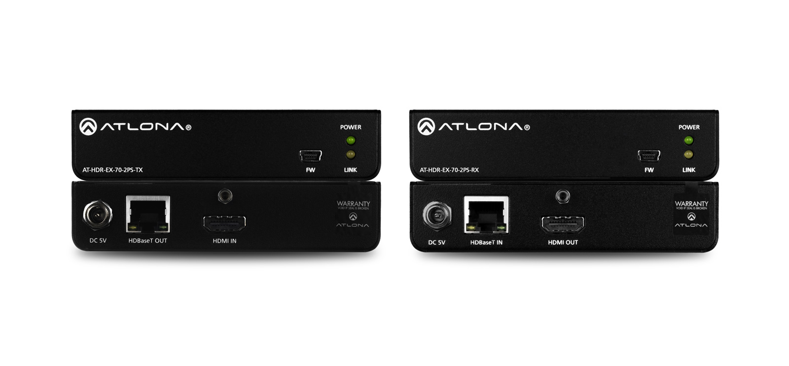 Atlona AT-HDR-EX-70-2PS-KIT - HDBaseT Set (Sender/Empfänger)