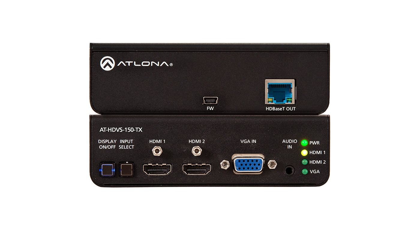 Atlona AT-HDVS-150-TX - HDBaseT Transmitter, Switcher