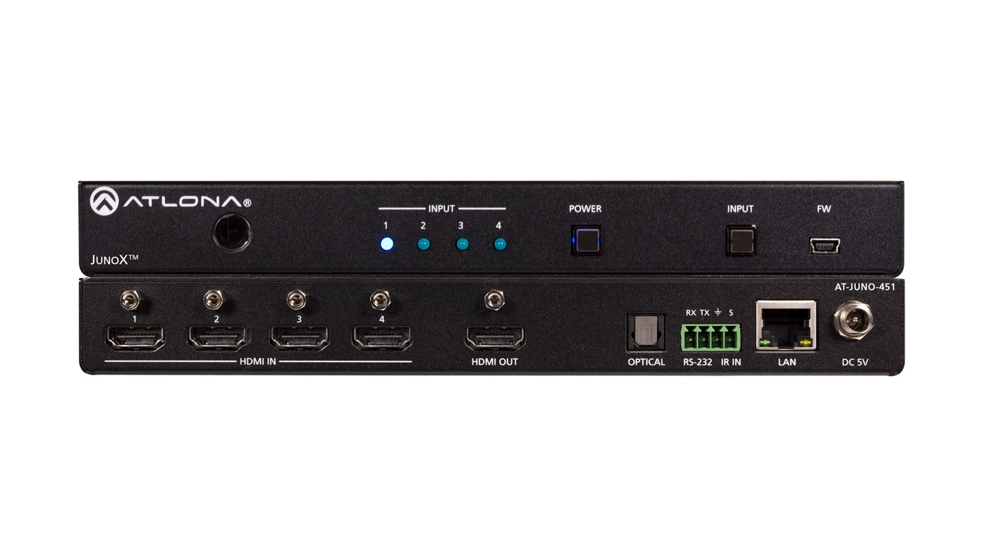 Atlona AT-JUNO-451 - HDMI Switcher 4 X 1