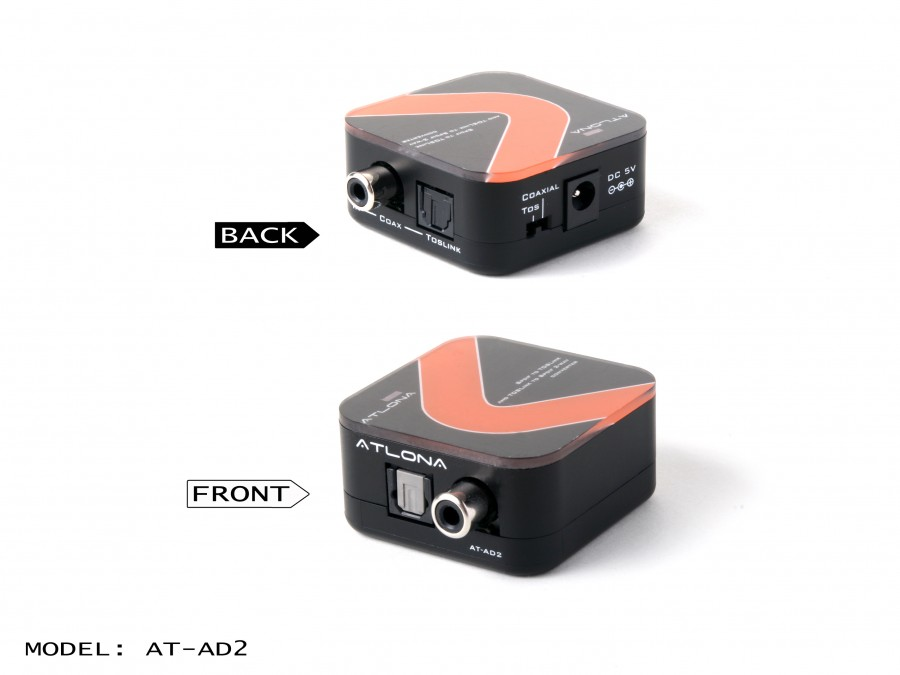 Atlona AT-AD2 - Audio Converter digital