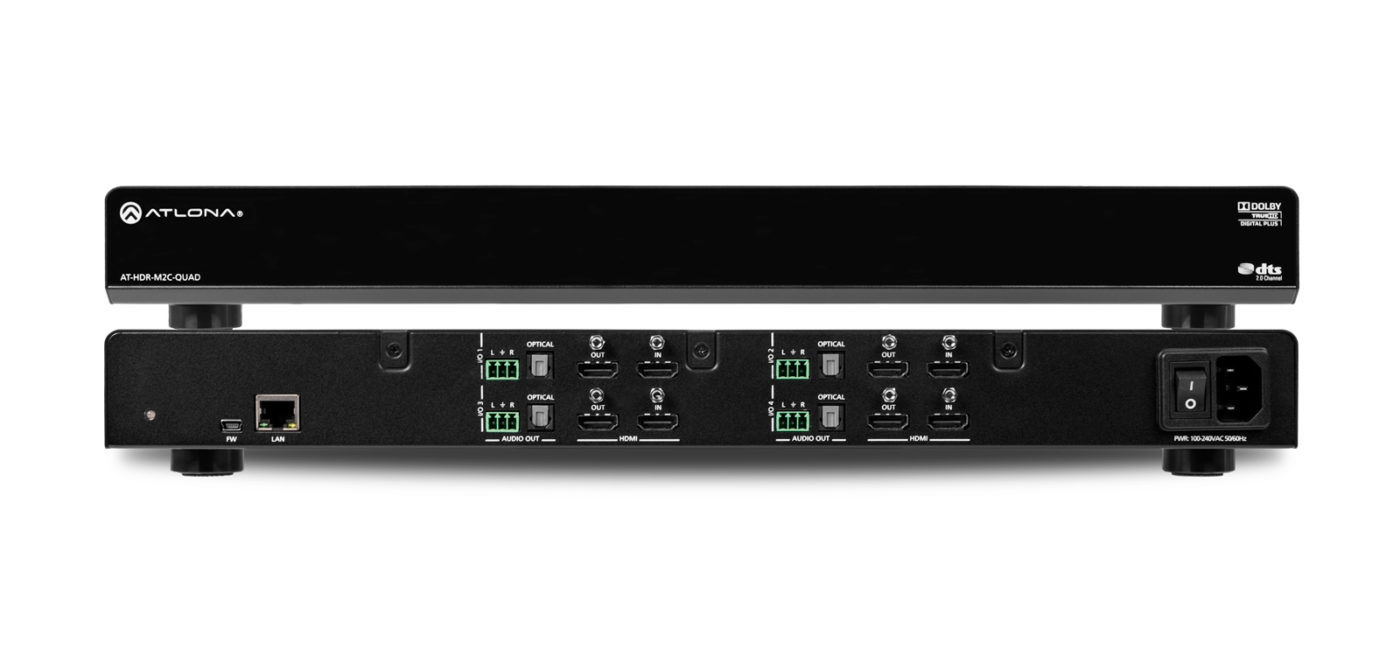 Atlona AT-HDR-M2C-QUAD - HDMI Audio De-Embedder
