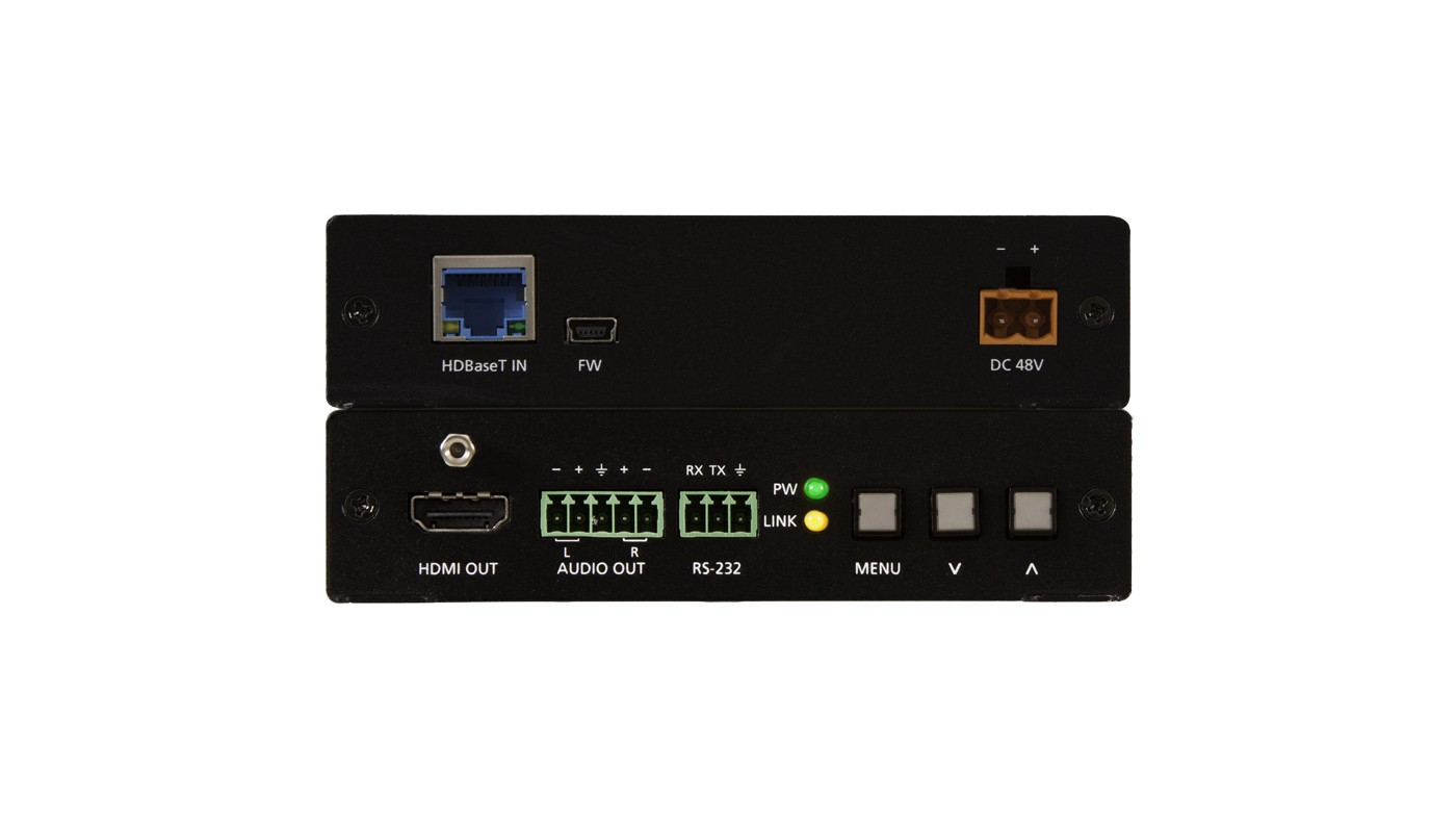 Atlona AT-HDVS-150-RX - HDBaseT Receiver, Scaler