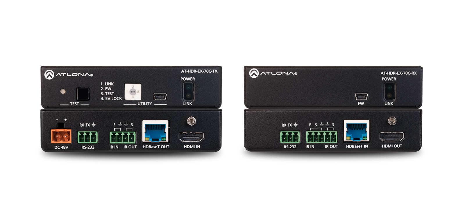 Atlona AT-HDR-EX-70C-KIT - HDBaseT Set (Sender/Empfänger)