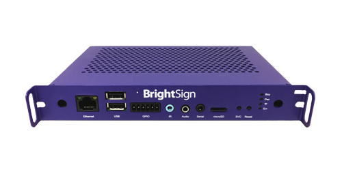 BrightSign H0523 (1080p60) - HD Player, interaktiv, OPS