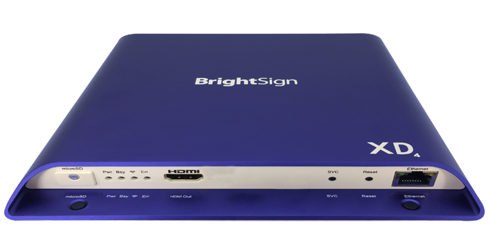 BrightSign XD234 (2xVideo) - 4K Player, HDR