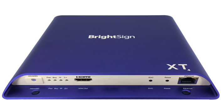 BrightSign XT244 (2xVideo) - 4K Player, HDR