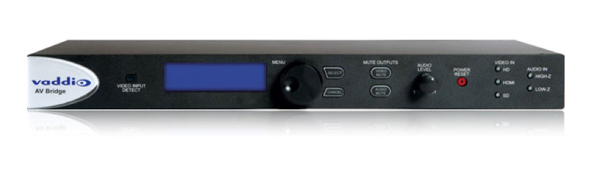 Vaddio AV Bridge - HD Video und Audio Encoder