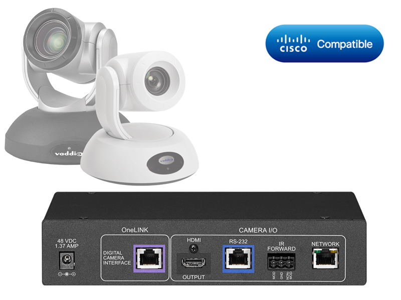 Vaddio Cisco Codec Kit - OneLINK HDMI RoboSHOT HDBT