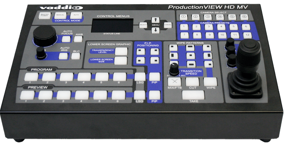 ProductionVIEW HD MV - Switcher/ Kamera Controller